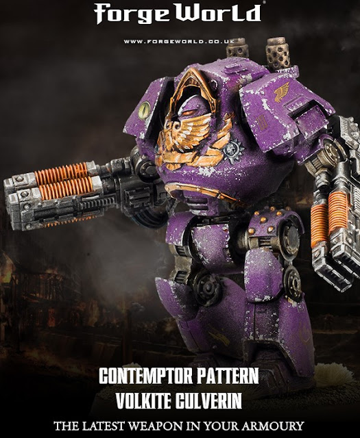 Novedades de Forge World: Contemptor Pattern Volkite Culverin