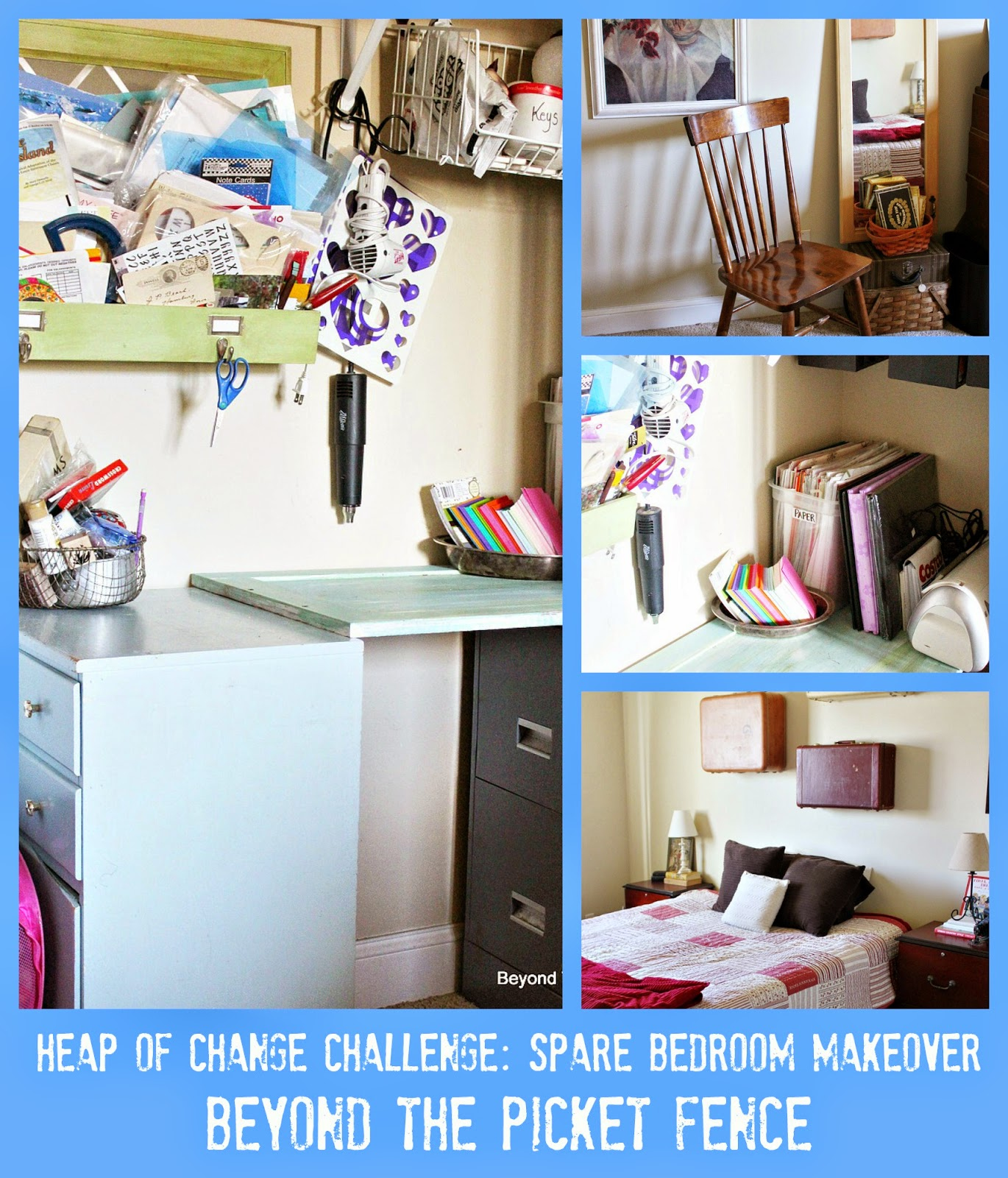 Oraganization, Heap of Change Challenge http://bec4-beyondthepicketfence.blogspot.com/2015/01/heap-of-change-challenge-week-3.html