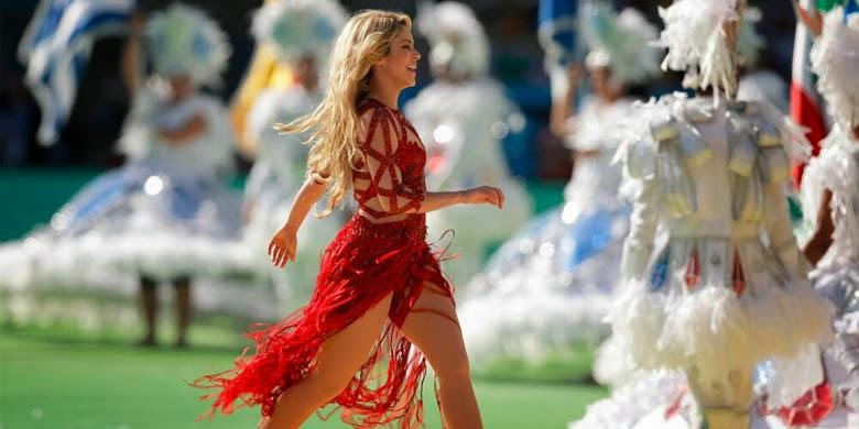 Video Shakira di Final Piala Dunia 2014