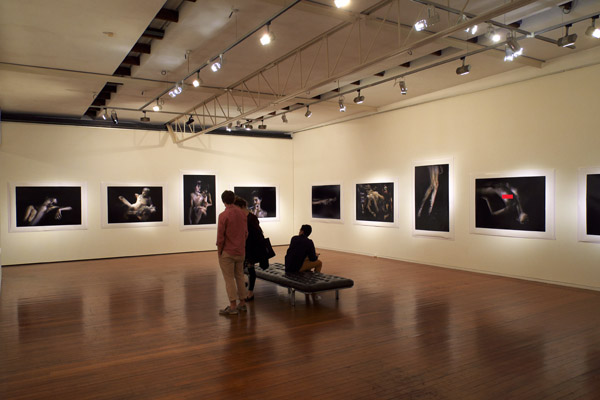 View of the gallery without people, Bill Henson show 2012, Roslyn Oxley 9 Gallery