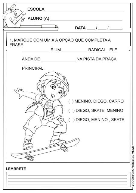 Atividade Simuladinho Linguagem Diego