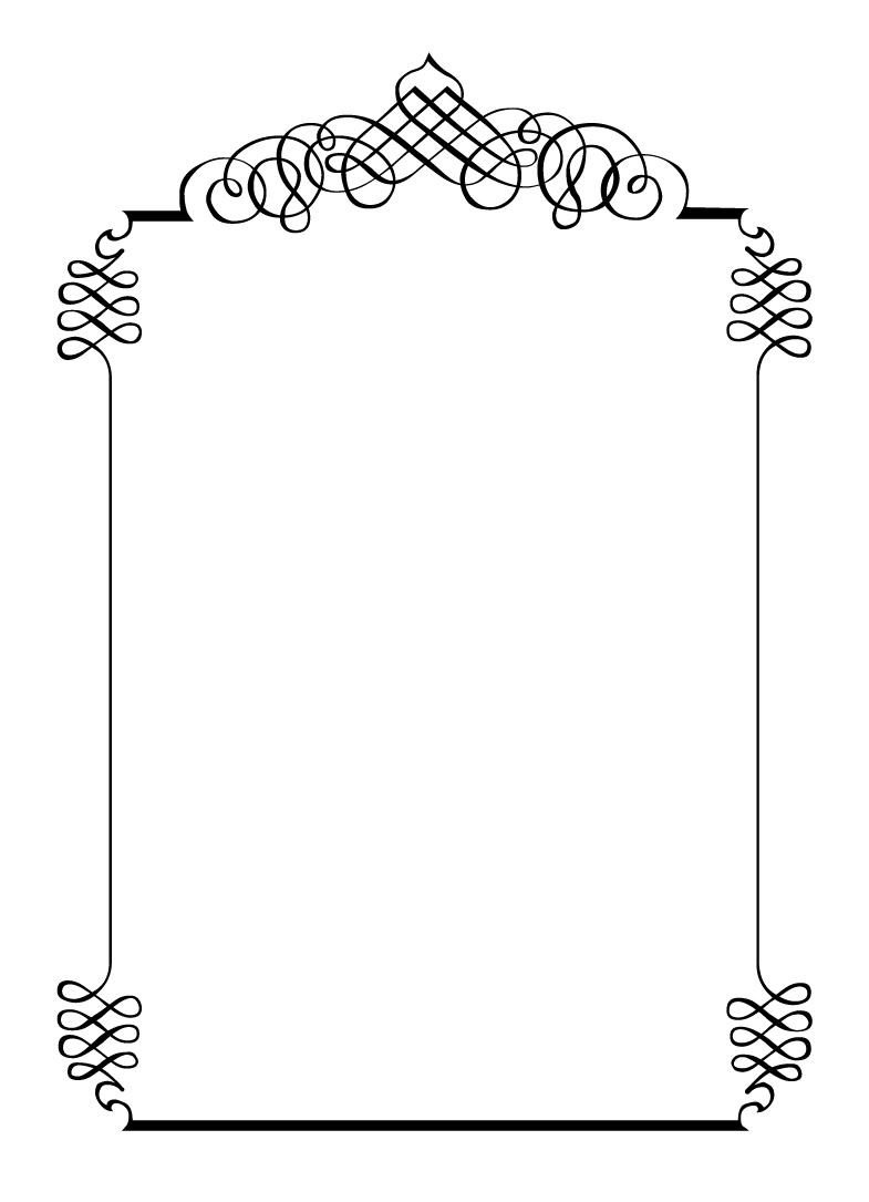 free wedding frame templates .