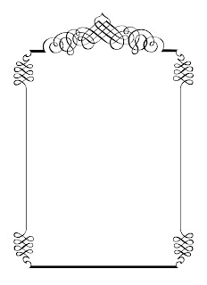 Calligraphic Frames  Printable Wedding Invitation Template 02 Wedding Borders And Frames Free Download