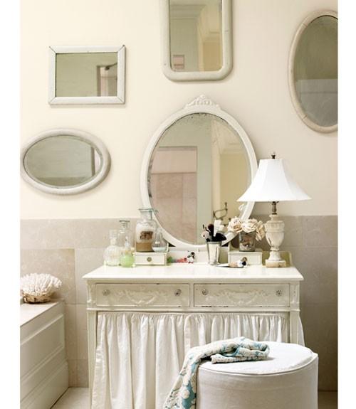Feito decora o banheiro de luxo - Cuartos de bano estilo vintage ...