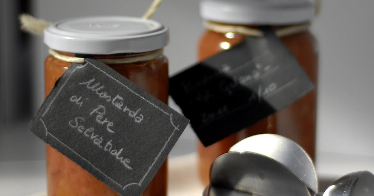 Primissima mostarda di pere selvatiche for Mostarda di pere mantovana