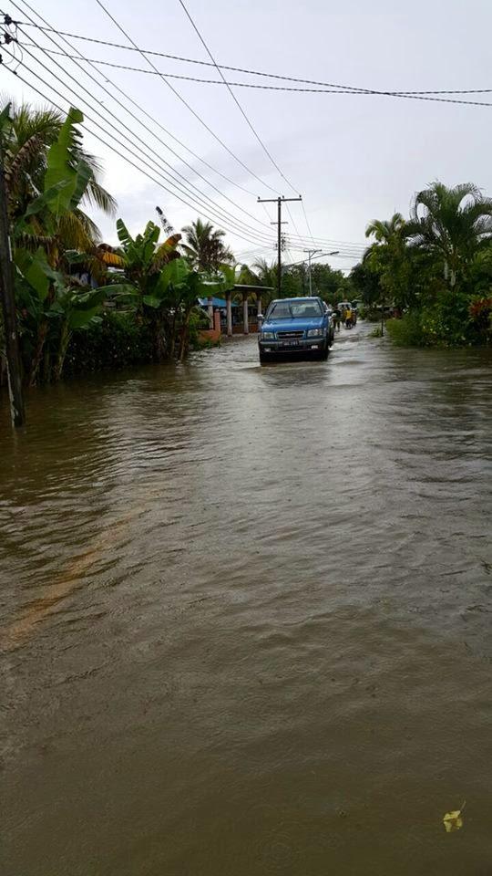 Gambar Keadaan Banjir Terkini di Sarawak 18 Jan 2015