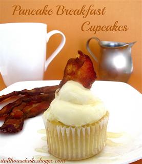 ... Mini Pancake Muffin Dunkers (maple bacon & cinnamon sugar, chocolate