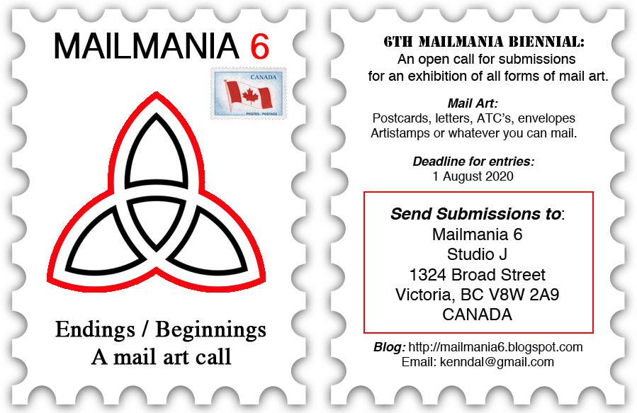 Mailmania 6 Mail Art Call