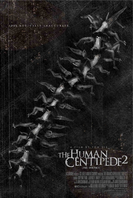 The Human Centipede 2 poster