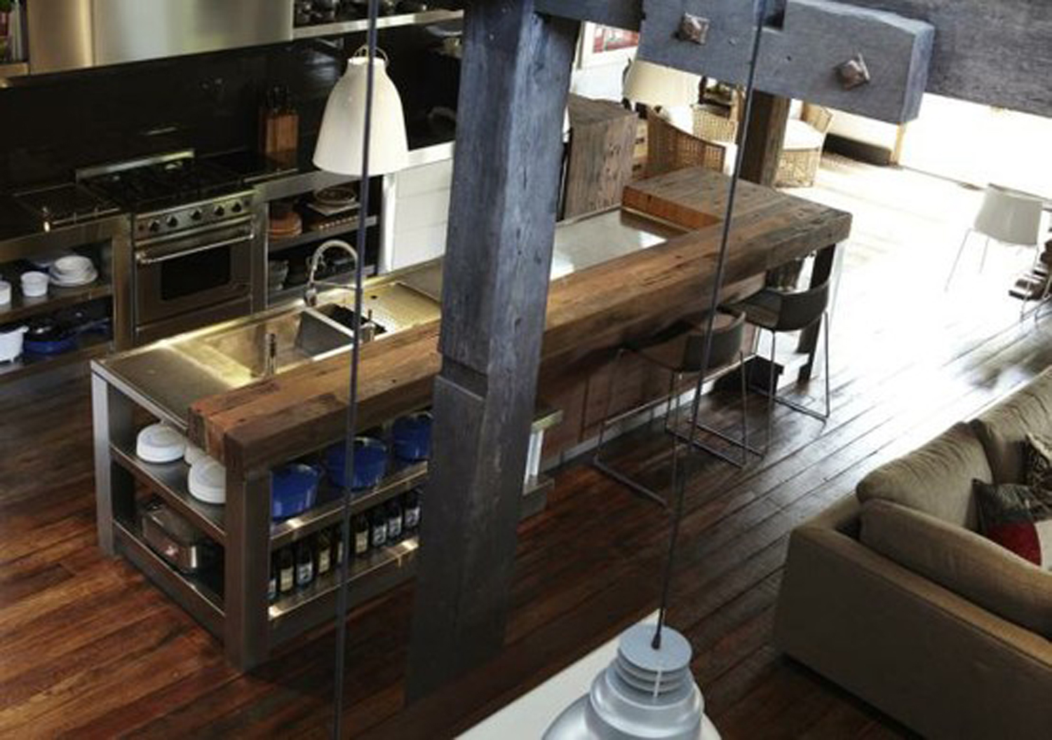 Rustic Industrial Kitchen Sunnylit Style Rustic Industrial In The Making
