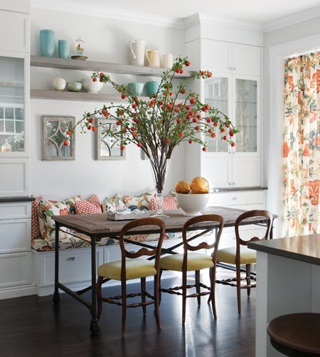 Breakfast Nook Banquette: South Shore Decorating Blog: 21 Super Stylish Breakfast Nooks