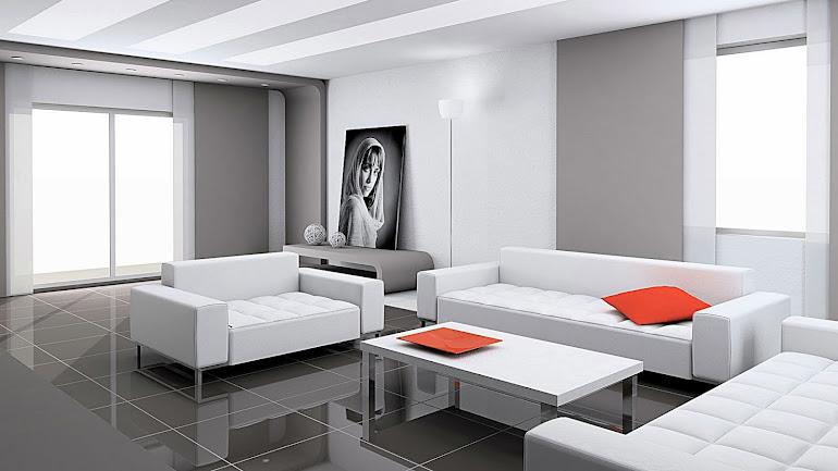 The interior of the apartment studio