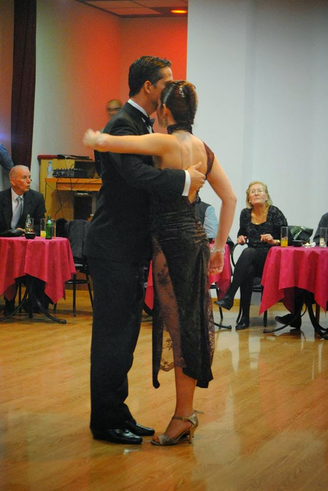 Maxi Moreira y Adriana Leverone actuaron para el Club de Tango de Mallorca