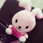 粉红兔代替四眼仔守护着