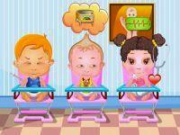 Baby clinic - Juego de cuidar bebés