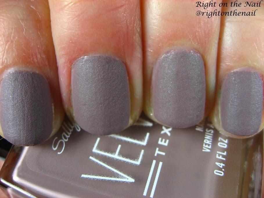 Right on the Nail: Right on the Nail ~ Sally Hansen Velvet Texture ...