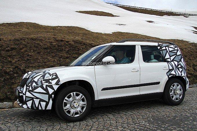 2013 Updated New Skoda Yeti Spy Photos ~ Garage Car