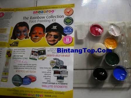 Snazaroo - Alat lukis wajah - BintangTop.Com