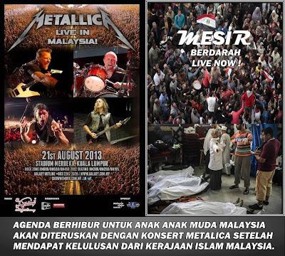 Konsert Metallica Live In Malaysia [21 August 2013] Stadium Merdeka Kuala Lumpur