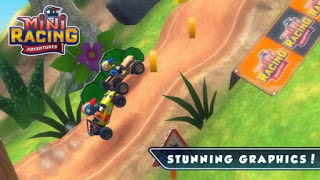 Mini Racing Adventures v1.5.2 MOD Apk (Unlimited Money) Android