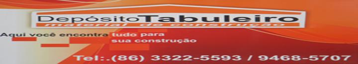 DEPÓSITO TABULEIRO - MATERIAL DE CONSTRUÇÃO