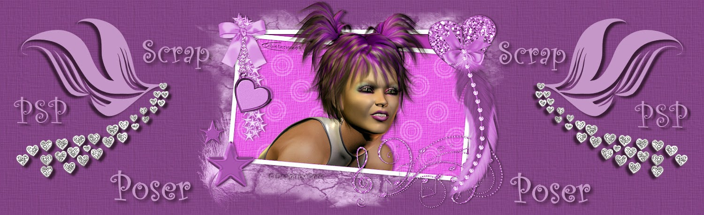 Cobie's Poser PSP en Scrapblog