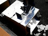 Mesin perajang / pemotong / pengiris keripik Tipe 3 in 1