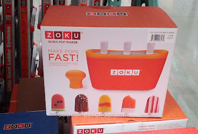 Make your own popsicles at home with the Zoku Quick Pop Maker