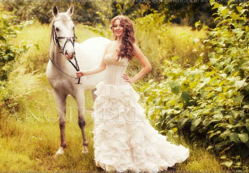 белое платье фотосессия