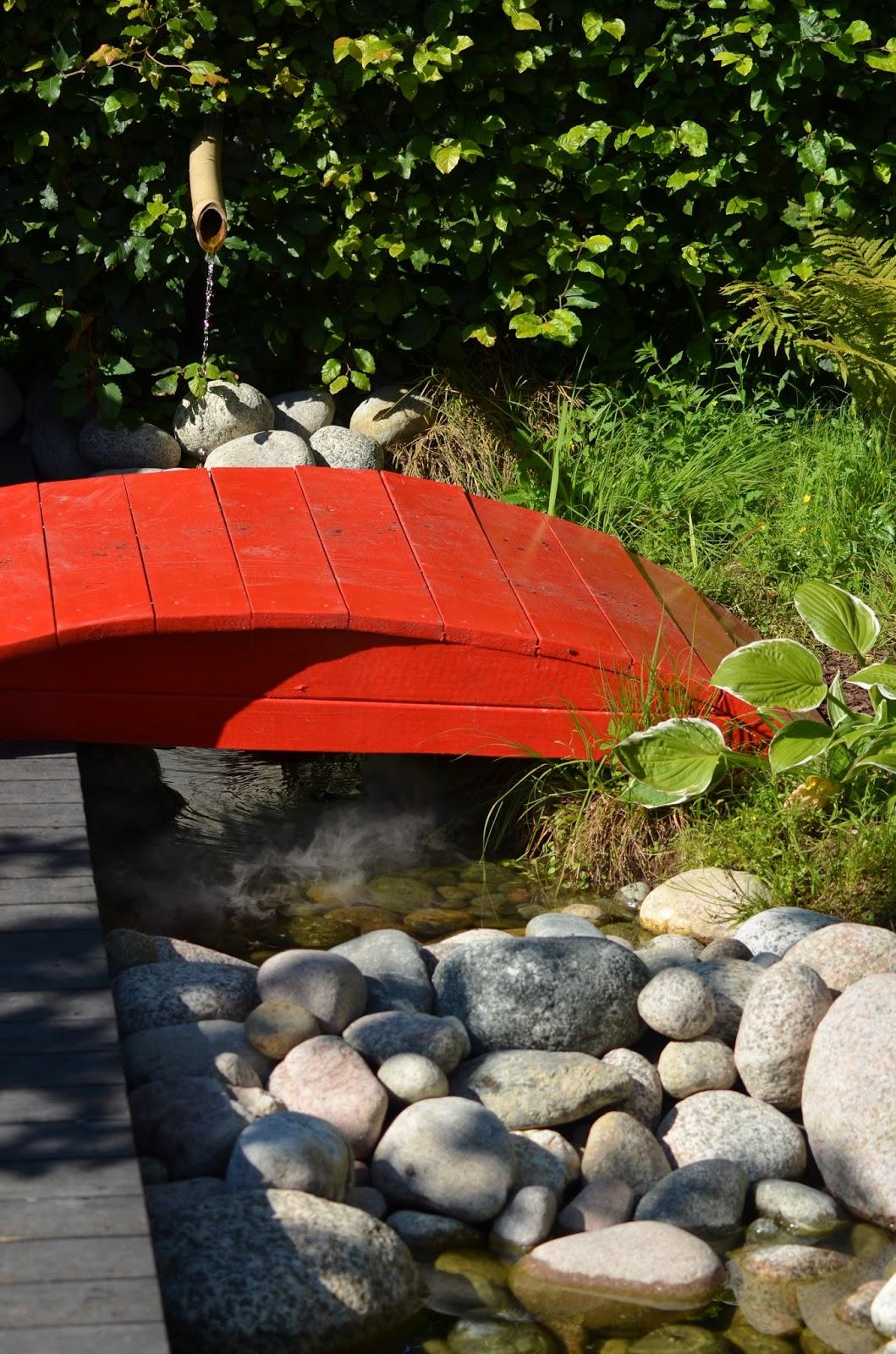 Enköpings tematrädgårdar 2015: vatten i trädgården