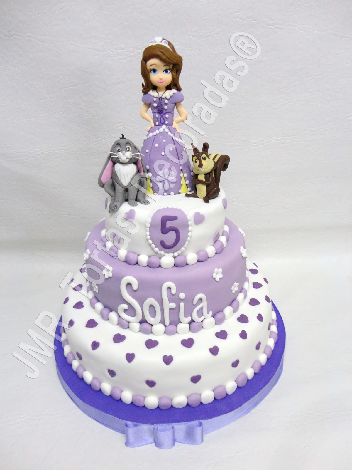 Torta y cookies Princesa Sofia . Sofia the first