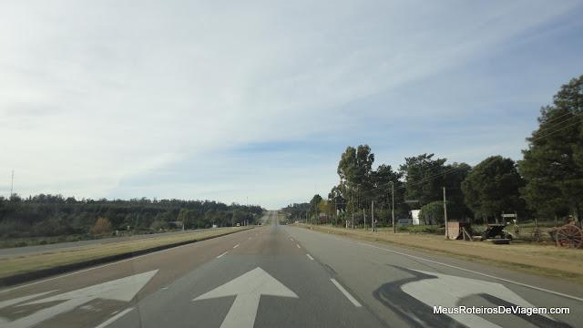 Ruta Interbalnearia - Montevidéu, Uruguai