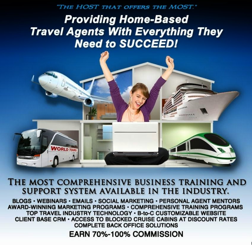 Travel Agents Host Agency: Home Based Travel Agent News: Your Future As A Home Based