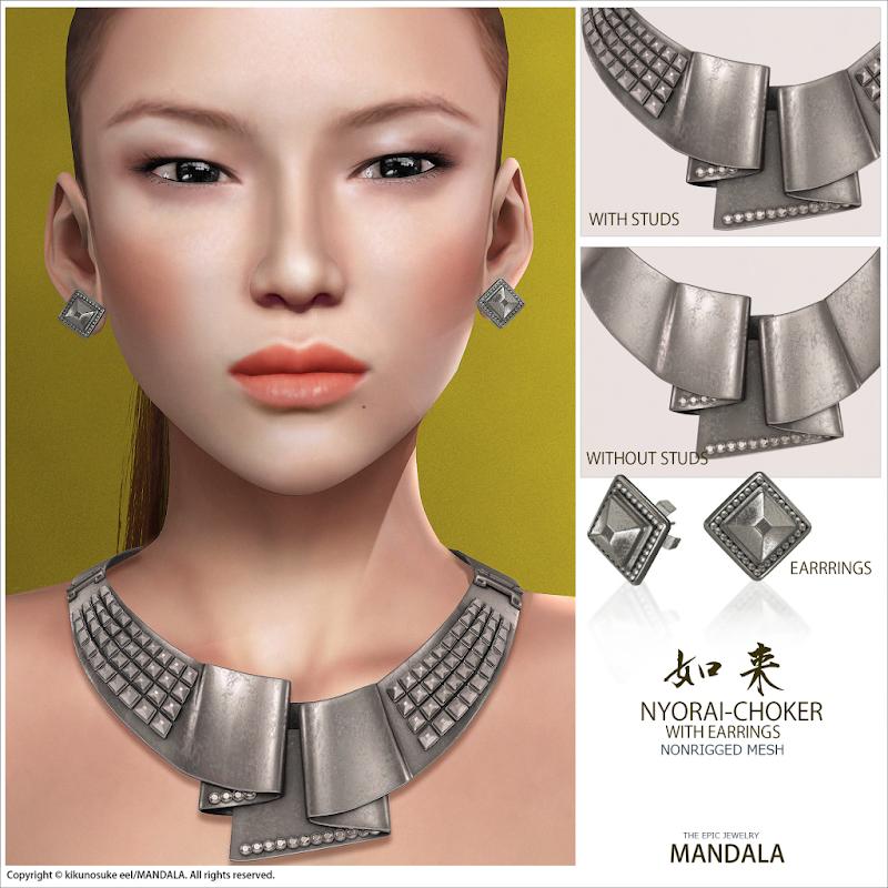 MANDALA]Nyorai Jewelry set(female/unrigged mesh) title=