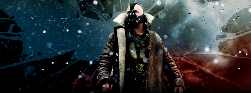 The dark knight rises official facebook cover