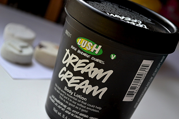 Lush Organic Natural Skincare Haircare Products Must Have Favorites Indian beauty Makeup Blog Reviews dream cream body lotion