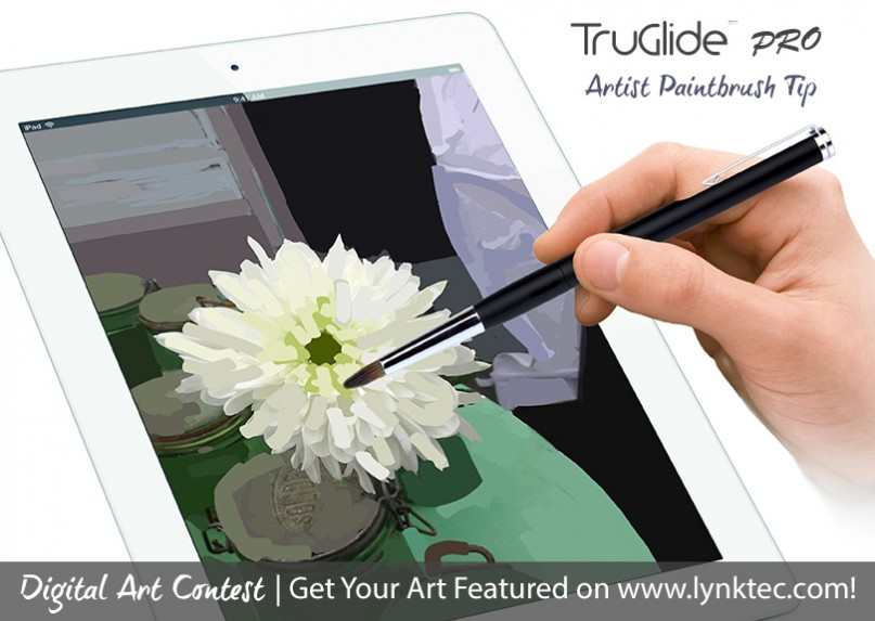 enter to win, ipad art, digital artists, paintbrush tip