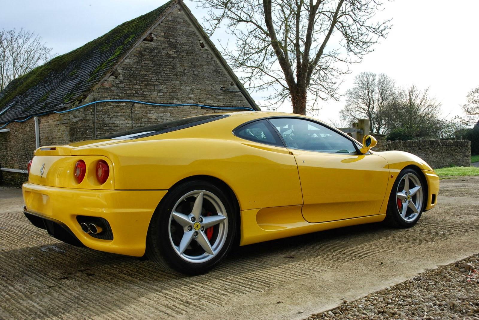 Yellow Ferrari 360 Modena 2001 Auto Restorationice