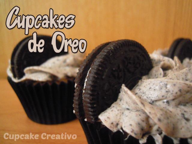 Cupcakes de Oreo, Buttercream de Oreo