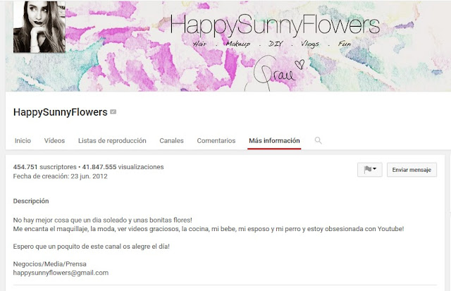 https://www.youtube.com/user/happysunnyflowers