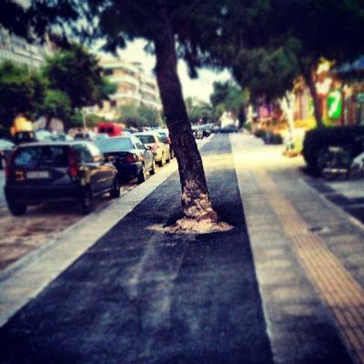 Ποδηλατόδρομοι του ποδαριού στη Γλυφάδα