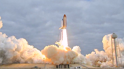 Lift-off of Space Shuttle Endeavour, 16 May 2011. NASA 2011.