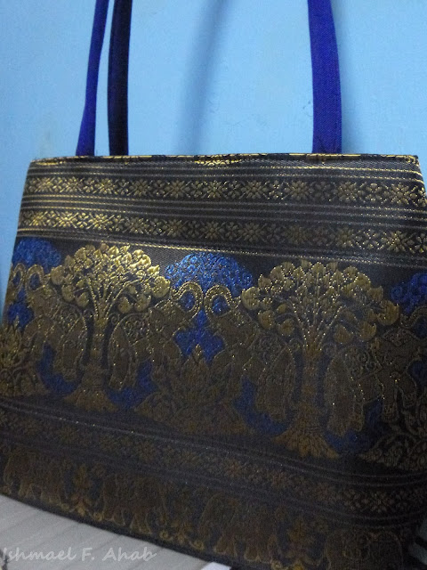 Thailand souvenir - bag from Ayutthaya