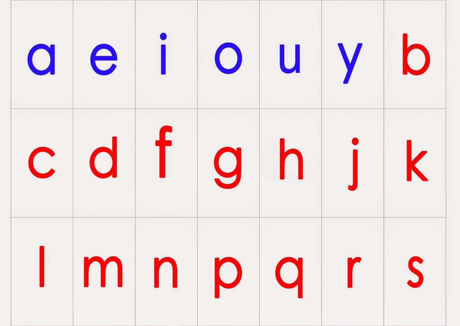 Gut bekannt Montessori : 3ème alphabet mobile en script (à télécharger) - Et  AK16