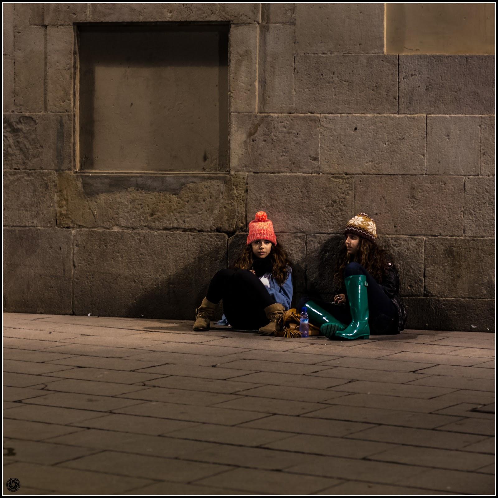 Barcelona, Plaça Catedral: Más confabuladas