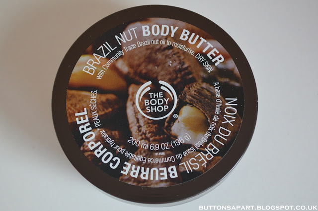 a picture of the body shop brazil nut body butter