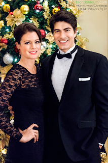 "Brandon Routh in a tuxedo in ""The Nine Lives of Christmas"""