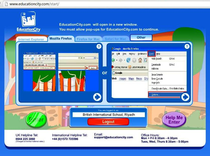 Mr Rhys Jones's year 4 blog: Education City Interactive learning