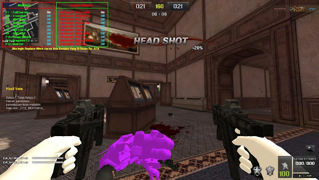 Cheat Point Blank Full Replace Weapon No DC+Full Wallhack+D3D Menu ...