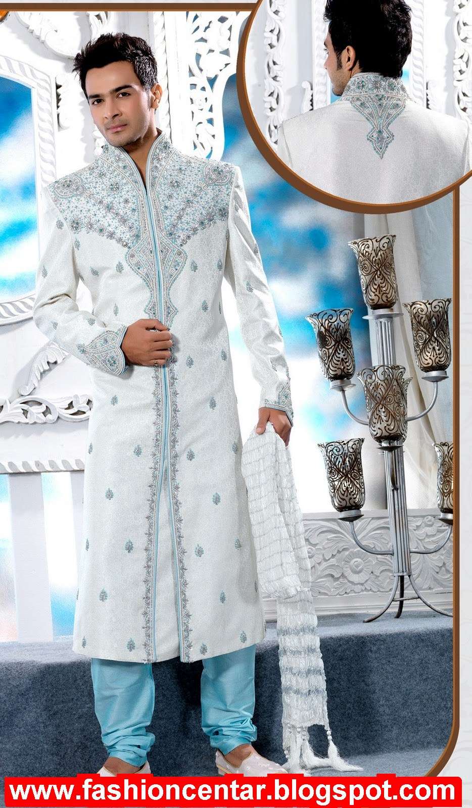 Wedding Sherwani & Kurta Pajama, Groom Sherwani | Fashion in New Look